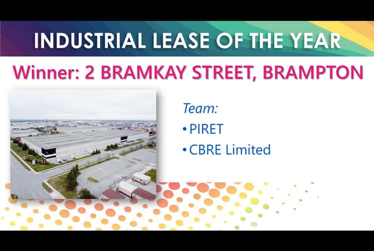 Industrial Lease of the Year